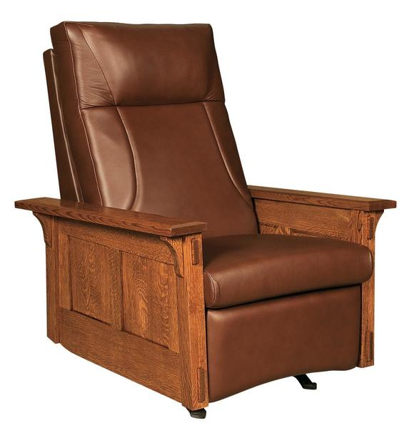 Amish McCoy Mission Rocker Recliner