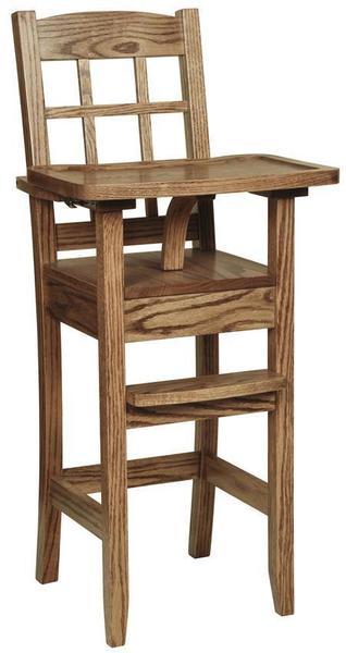 Amish Classic Maysbury Wooden High Chair