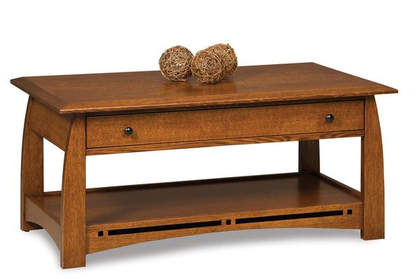 Amish Boulder Creek Mission Coffee Table