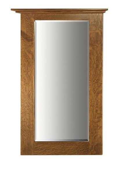 Amish Hardwood Hall Mirror