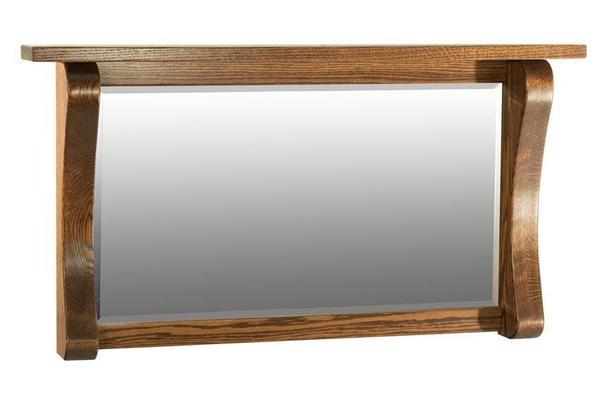 Amish Hardwood Large Legacy Mirror