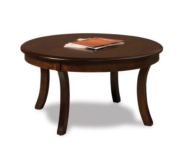 "Amish Sierra 38"" Round Coffee Table"
