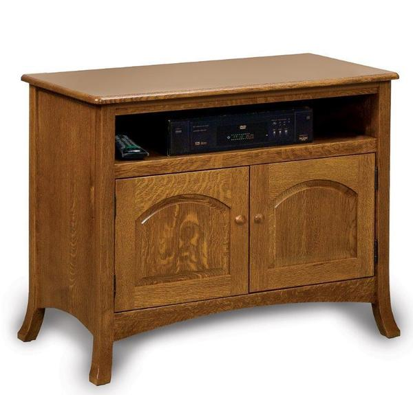 Amish Carlisle Two Doors TV Stand