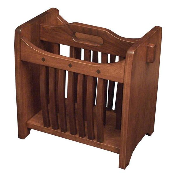 Amish Hardwood Royal Mission Magazine Rack