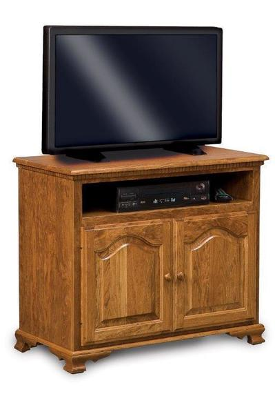 Amish Hoosier Heritage Two Doors LCD Stand