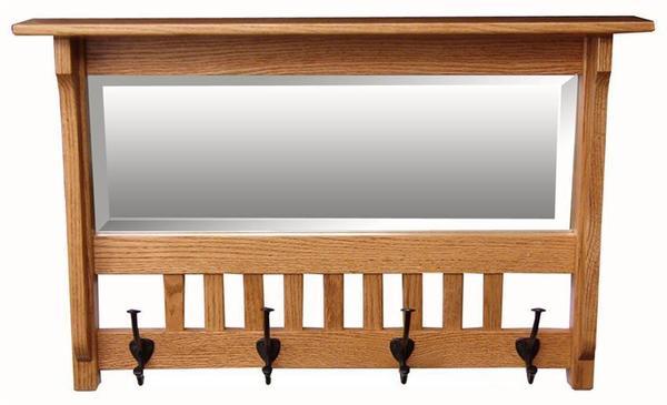 Amish Hardwood Small Mission Mirror