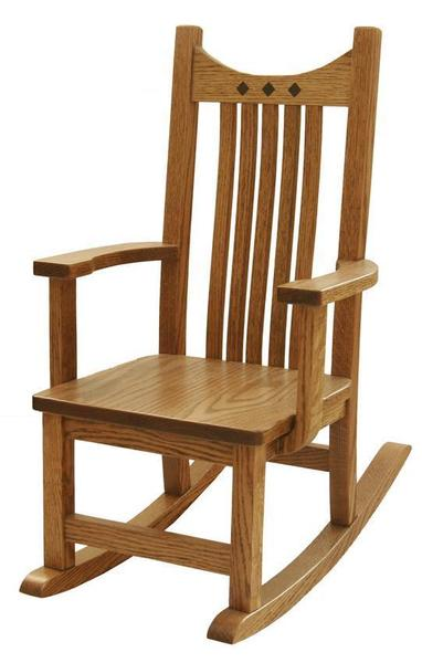 Amish Royal Mission Kids' Rocking Chair