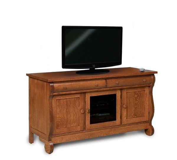 """Amish Classic Sleigh 57"""" TV Stand"""