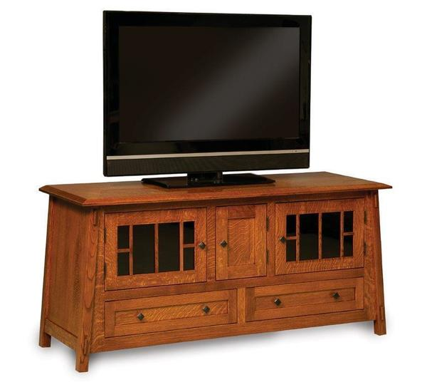 """Amish 61"""" Colbran Mission TV Stand"""
