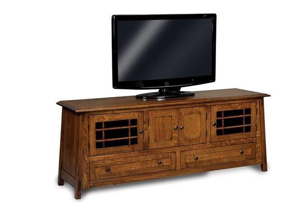"Amish 73"" Colbran Mission TV Stand"