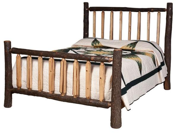Amish Appalachia Spindle Bed