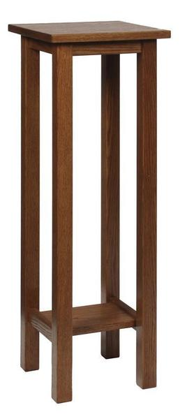 Amish Hardwood Plain Plant Stand