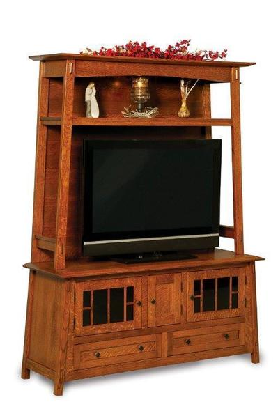 Amish Colbran Entertainment Center