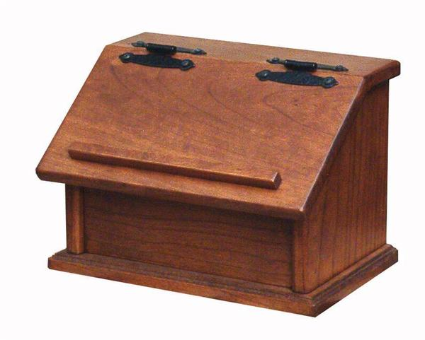 Amish Wood Recipe Box Made in the USA