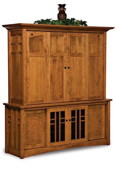 Amish Kascade Entertainment Center