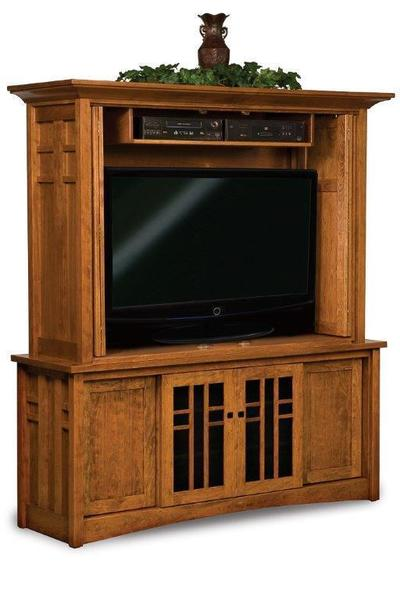 Amish Kascade Mission Entertainment Center