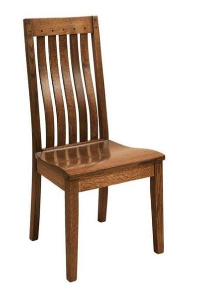 Amish Fresno Mission Dining Room Chair