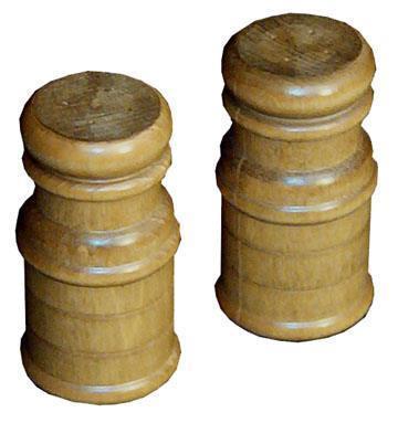 Amish Wooden Salt and Pepper Shaker Set