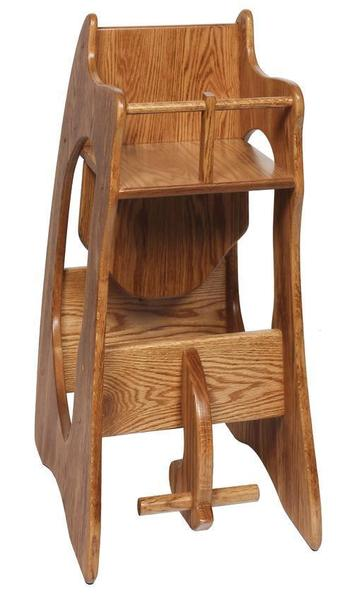 Three In One Highchair Rocker And Desk Wide From