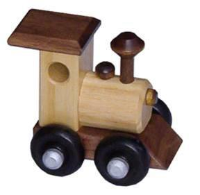 Amish Ash Train Engine