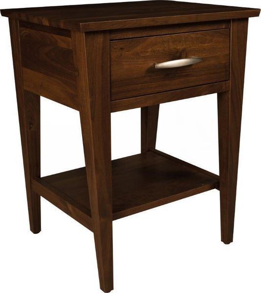 Amish Metro One-Drawer Nightstand