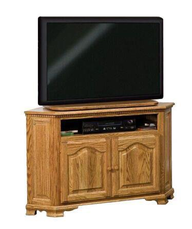 Amish Hoosier Heritage Corner TV Stand