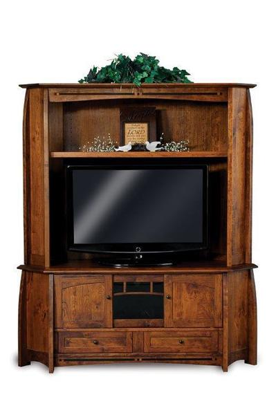 Amish Boulder Creek Corner Entertainment Center