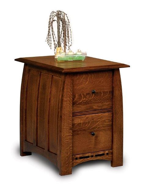 Amish Boulder Creek Two Drawers File Cabinet