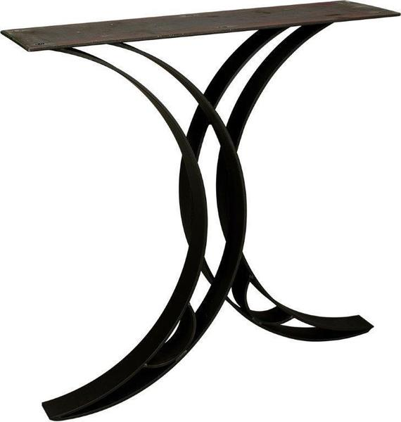 Amish Rustic Double Curved Dining Base