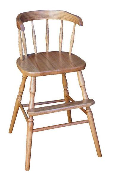 Amish Wood Captains Youth Chair
