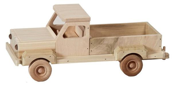 Amish Wooden Toy Pick-up