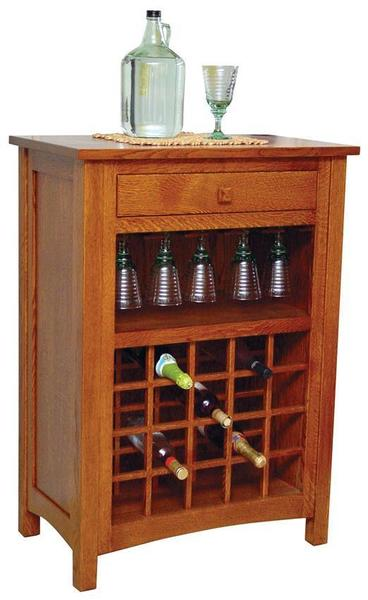Amish Noble Wine Cabinet