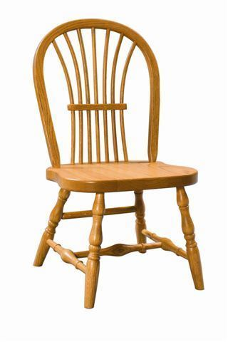 Amish Wheat Back Kids Chair
