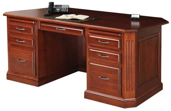 Amish Buckingham Executive Desk