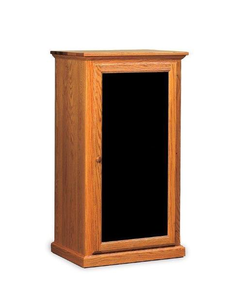 """Amish 27"""" Shaker Stereo Cabinet"""