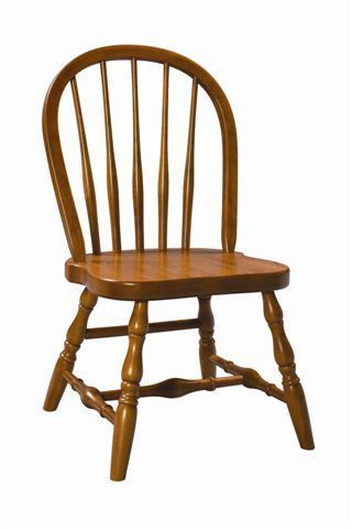 Amish Bow Back Windsor Kid Chair