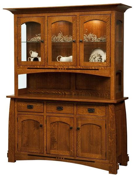 Amish Colebrook Hutch