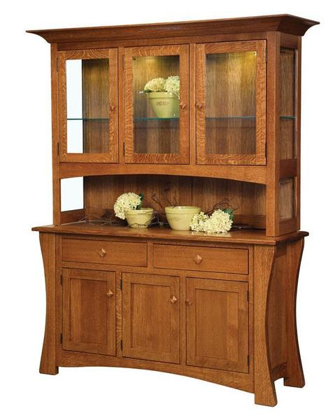 Amish Arts & Crafts Hutch