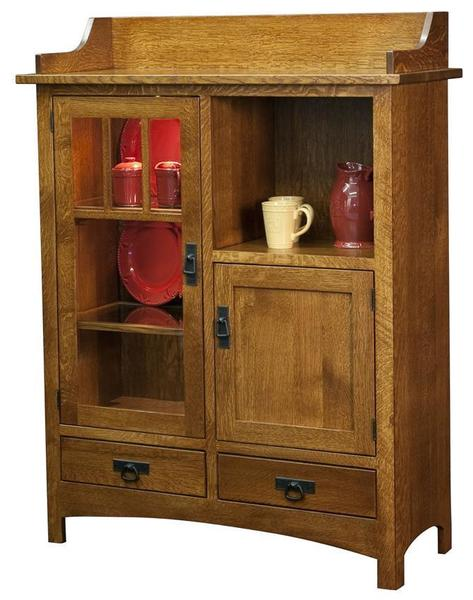 Amish Dining Cabinet