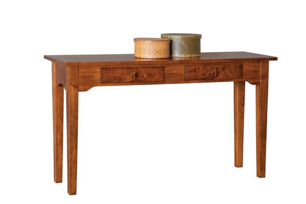 Amish Solid Wood Sofa Table