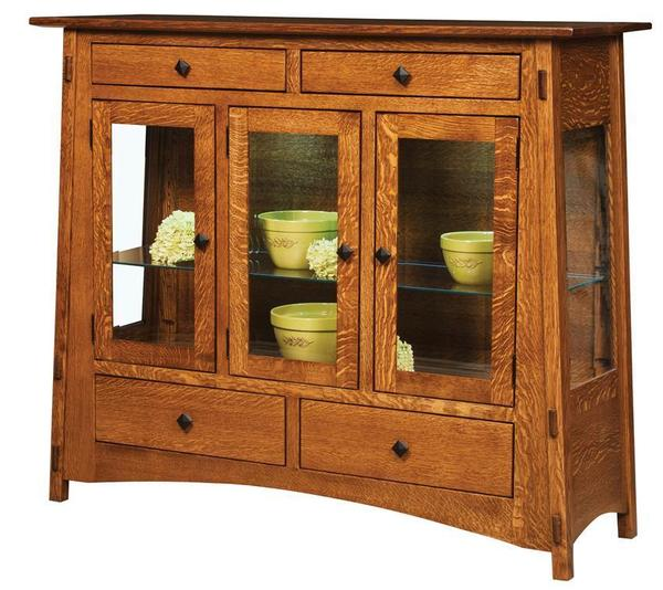 Mccoy Mission High Buffet From, Dutchcrafters Amish Furniture
