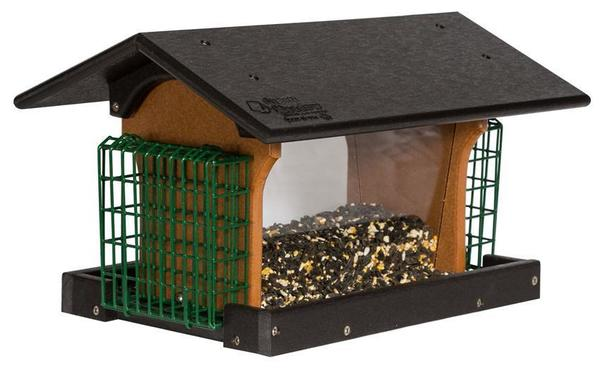 Amish Deluxe Recycled Plastic Bird Feeder