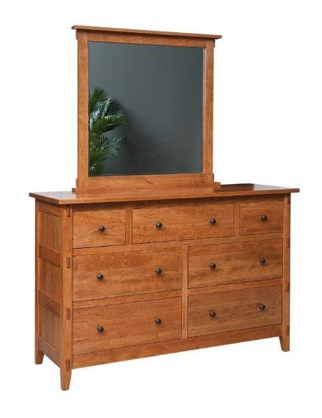 Amish Bungalow Seven Drawer Dresser