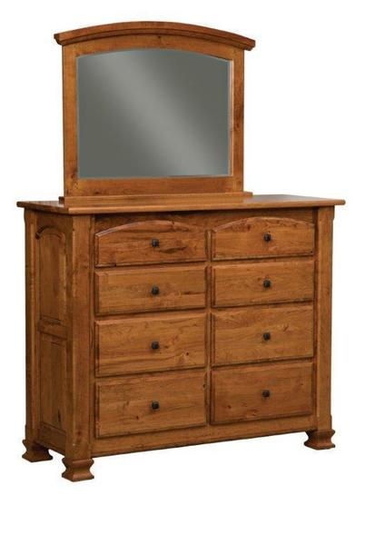 Amish Trenton Eight Drawer Dresser