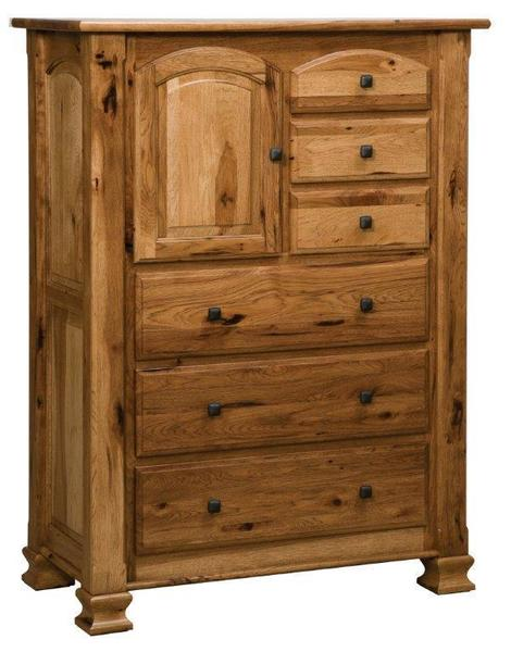 Amish Trenton Chest with Six Drawers and One Door