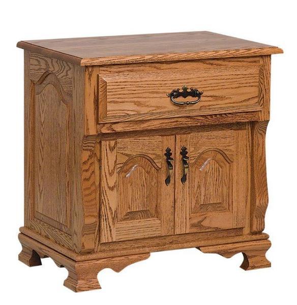 Amish Classic Heritage Two Door Nightstand