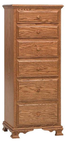 Amish Heritage Lingerie Chest with Six Drawers