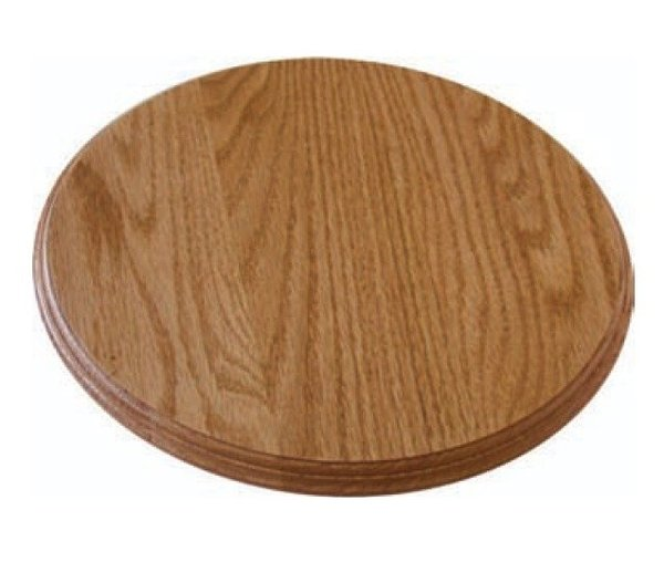 Amish Wooden Flat Top Lazy Susan