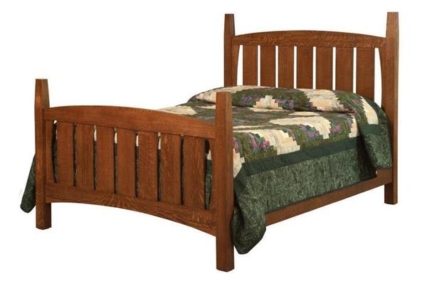 Amish Jadon Mission Bed