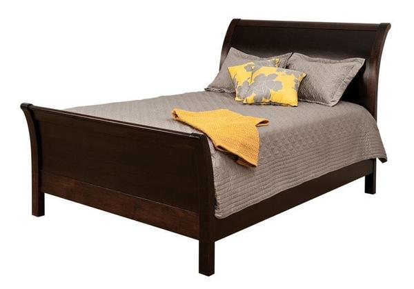 Amish Urban Sleigh Bed